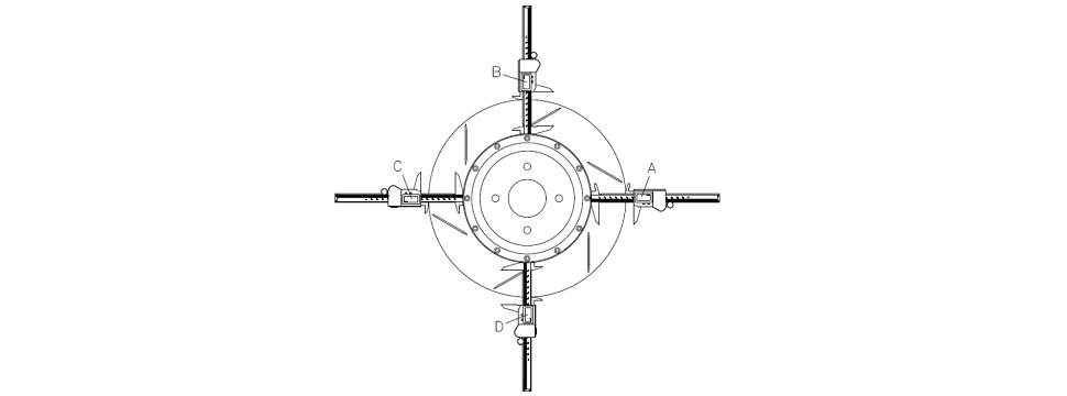 Установка тормозных дисков D2