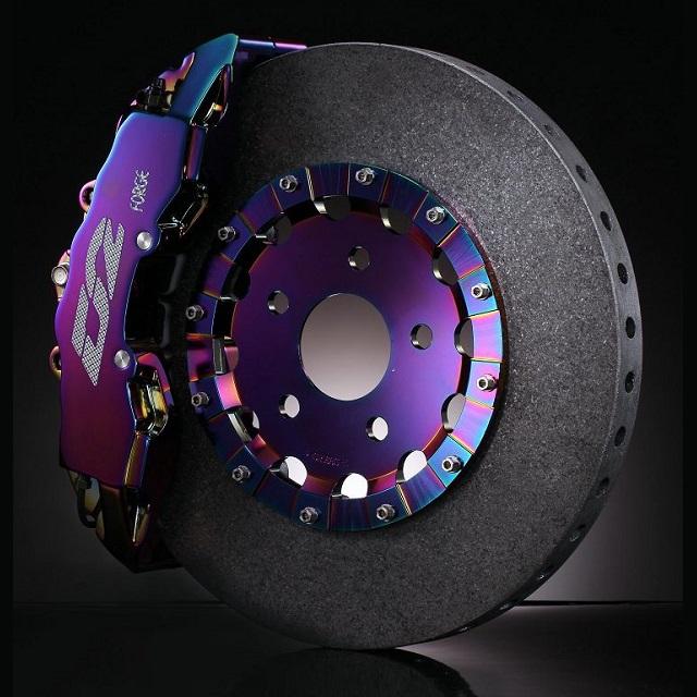 Карбон-керамические тормозные системы R18 (356 мм)