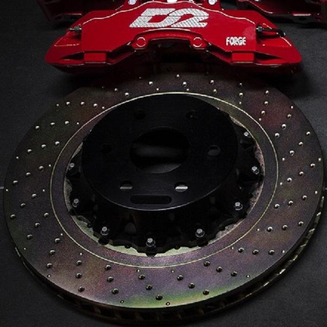 Передние перфорированные Роторы плавающие 444х36 мм /пара/