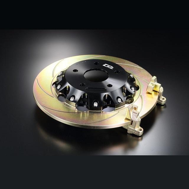 Задние двусоставные тормозные диски D2 с увеличенной скобой под штатный суппорт с электронным ручником
